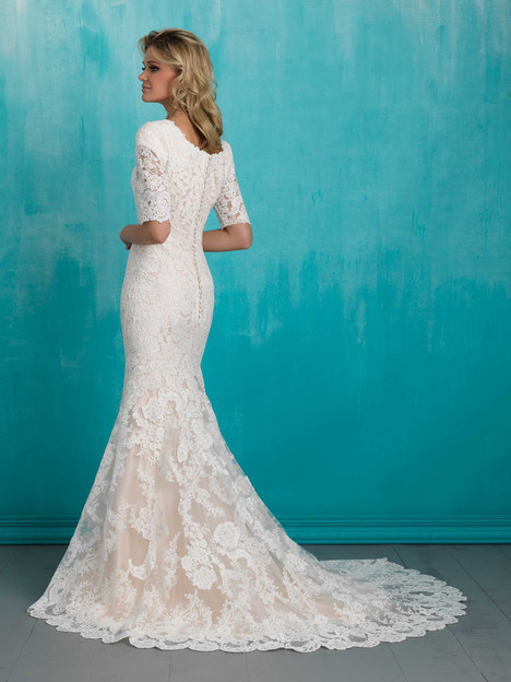 M551 (2) Wedding                                          dress by Allure Modest