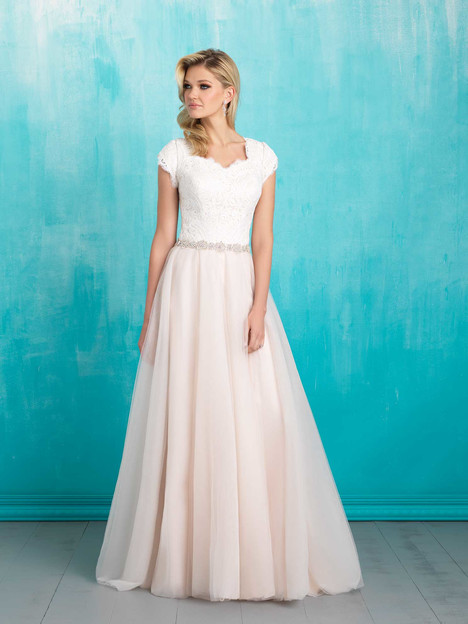 M550 Wedding                                          dress by Allure Bridals: Allure Modest