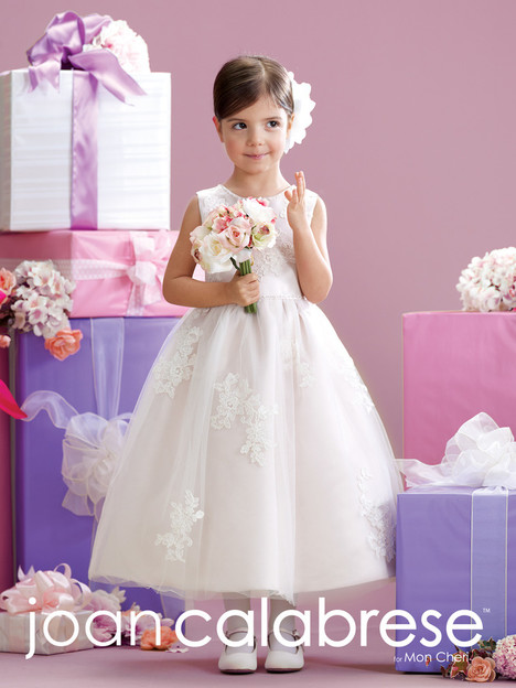 215341 Flower Girl                                      dress by Joan Calabrese
