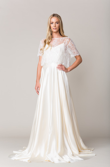 Avignton Wedding                                          dress by Sarah Seven
