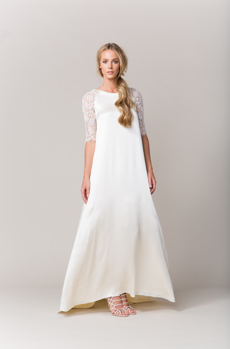 Toulon Wedding                                          dress by Sarah Seven