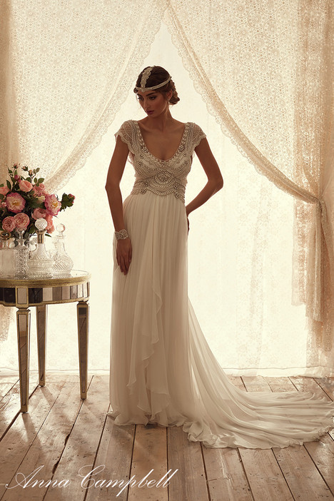 Coco Brocade Wedding                                          dress by Anna Campbell