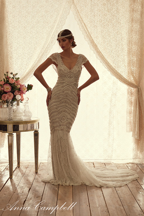 Coco Drop Skirt Wedding                                          dress by Anna Campbell
