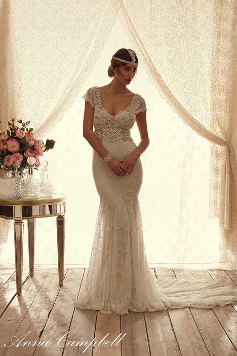 Coco Fit and Flare Wedding                                          dress by Anna Campbell