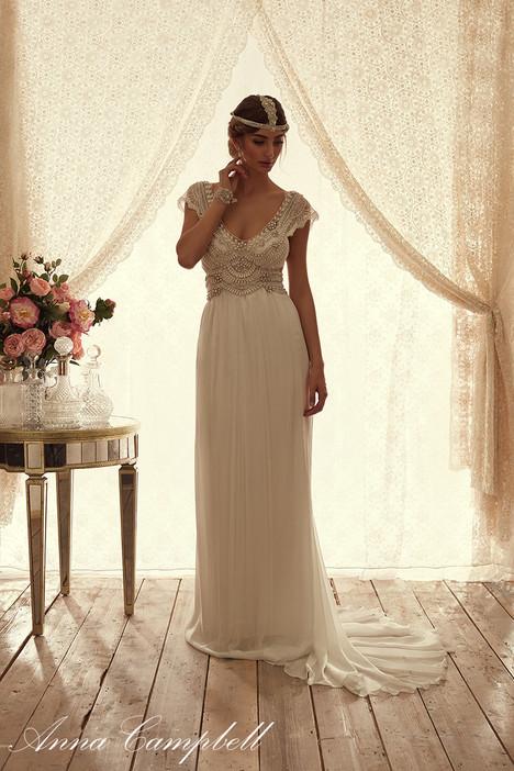 Coco Silk Chiffon Wedding                                          dress by Anna Campbell