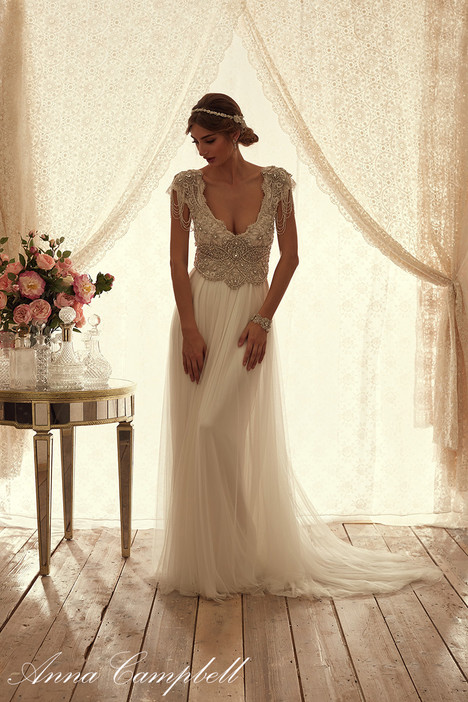 Sierra (Soft Tulle) Wedding                                          dress by Anna Campbell