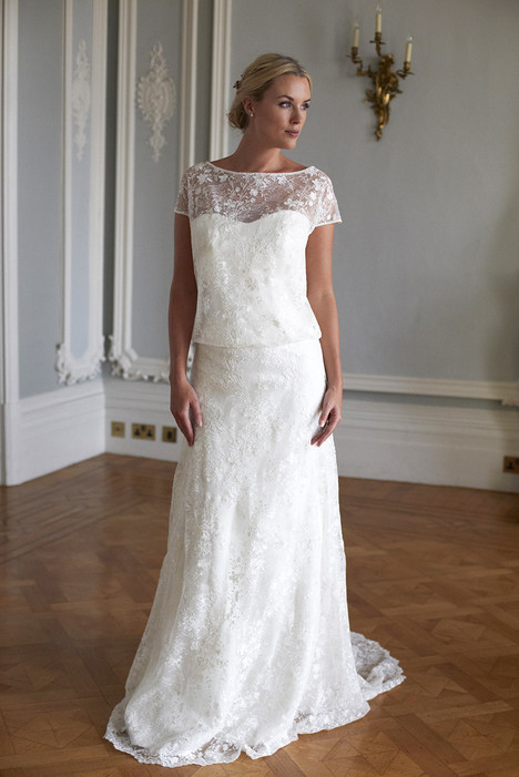 Alyssa Wedding                                          dress by Augusta Jones