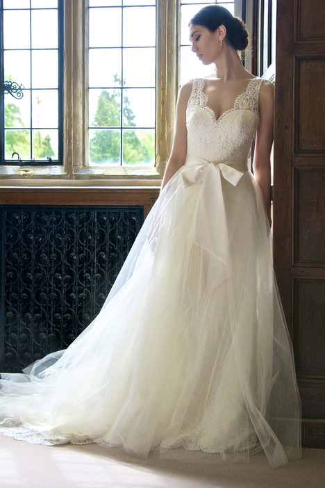 Daphne + Overskirt Wedding dress by Augusta Jones