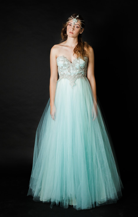 Blue Sunday gown from the 2016 Claire La Faye collection, as seen on dressfinder.ca