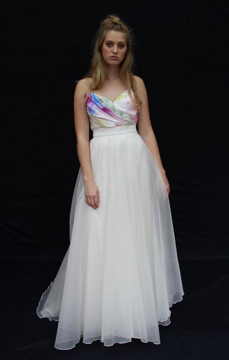 In Bloom Bodice + Tatiana Skirt Wedding                                          dress by Claire La Faye