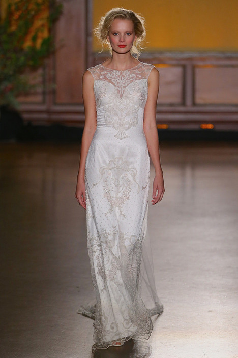 Eva Wedding                                          dress by Claire Pettibone: Romantique