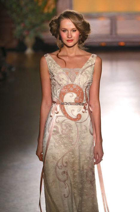 Lillian Wedding                                          dress by Claire Pettibone: Romantique
