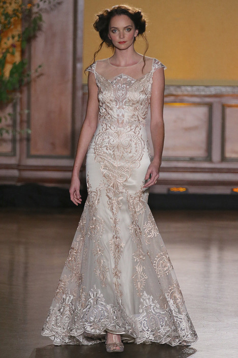 Vanderbilt Wedding                                          dress by Claire Pettibone: Romantique