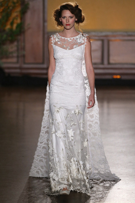 Whitney Wedding                                          dress by Claire Pettibone : Romantique