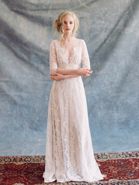 Patchouli Wedding                                          dress by Claire Pettibone Couture