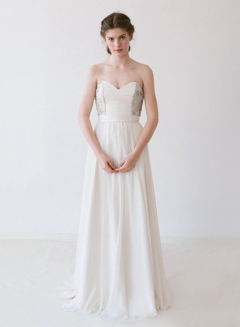 Bernadette Wedding                                          dress by Truvelle