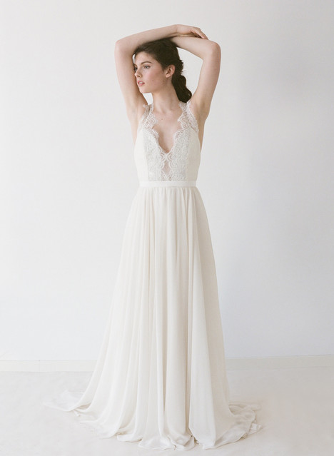 Jordan Wedding                                          dress by Truvelle