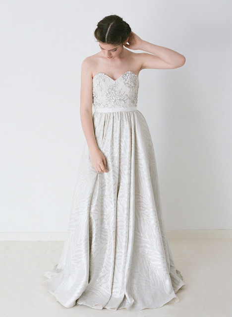 Shannon Wedding                                          dress by Truvelle