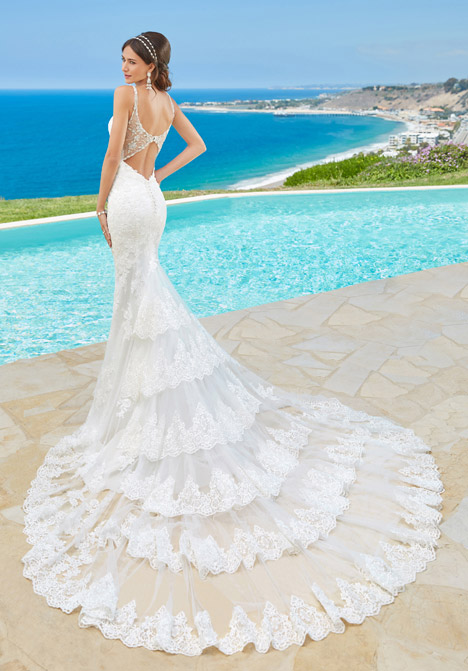 Jovanna (back) Wedding                                          dress by KittyChen Couture