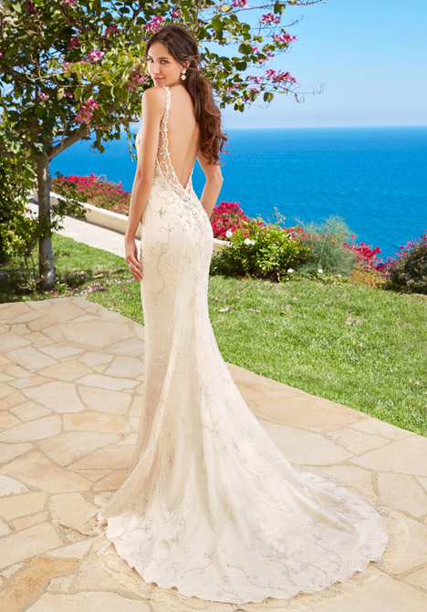 Kinsley (back) Wedding                                          dress by KittyChen Couture