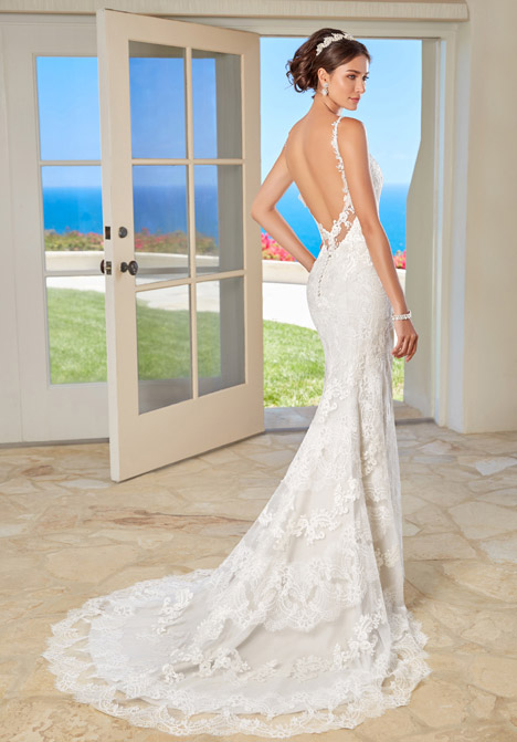 Lana (back) Wedding                                          dress by KittyChen Couture