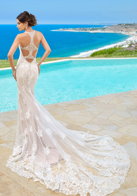 Lexy (back) Wedding                                          dress by KittyChen Couture