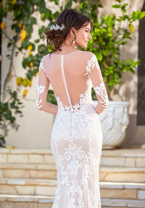 Rene (back) Wedding                                          dress by KittyChen Couture