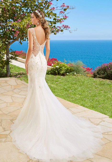 Venetia (back) Wedding                                          dress by KittyChen Couture