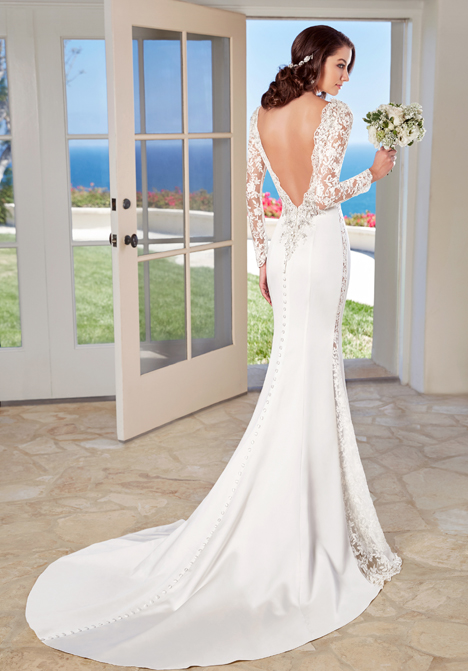 Bailey (back) Wedding dress by KittyChen