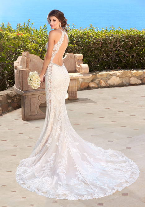 Jazlyn (back) gown from the 2016 KittyChen collection, as seen on dressfinder.ca