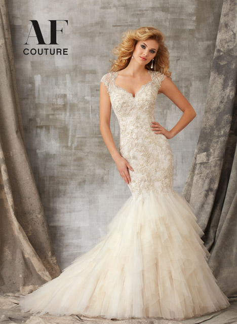 1341 Wedding                                          dress by Mori Lee: AF Couture