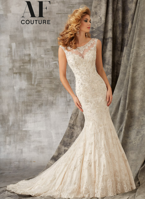 1342 Wedding                                          dress by Mori Lee: AF Couture