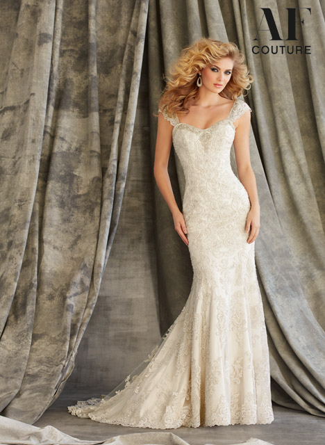 1343 Wedding                                          dress by Mori Lee: AF Couture