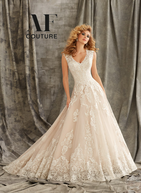 1344 Wedding                                          dress by Mori Lee: AF Couture
