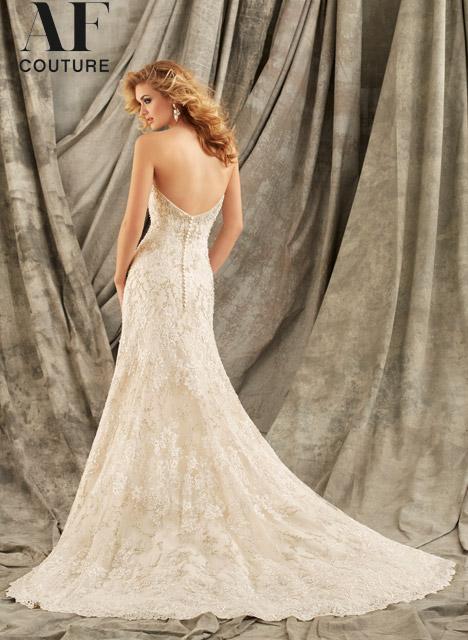 1346 (back) Wedding                                          dress by Mori Lee: AF Couture