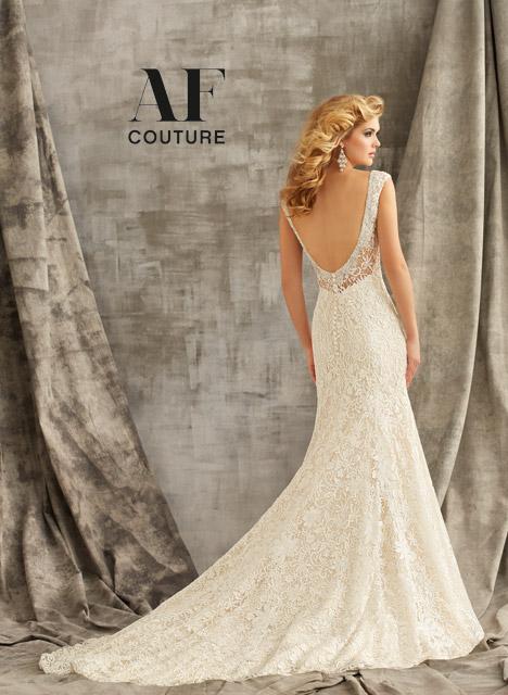 1347 (back) Wedding                                          dress by Mori Lee: AF Couture