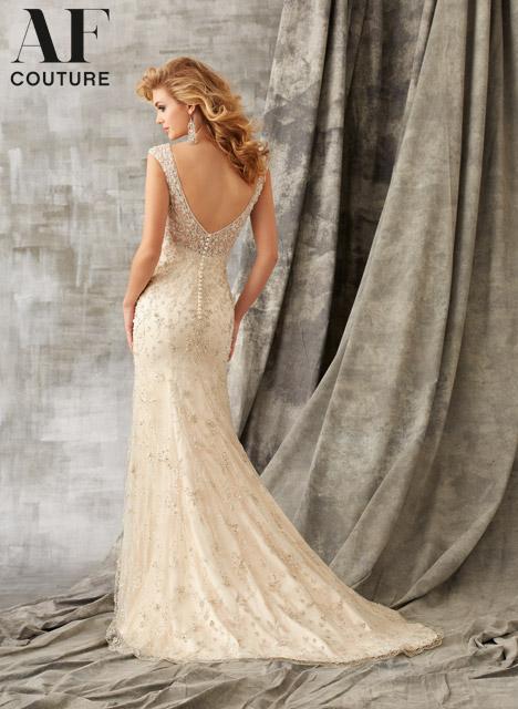 1348 (back) Wedding dress by Morilee AF Couture