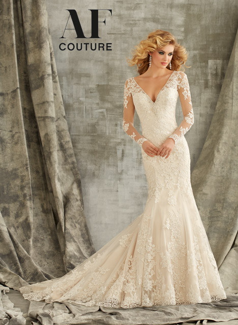 1350 Wedding                                          dress by Morilee AF Couture
