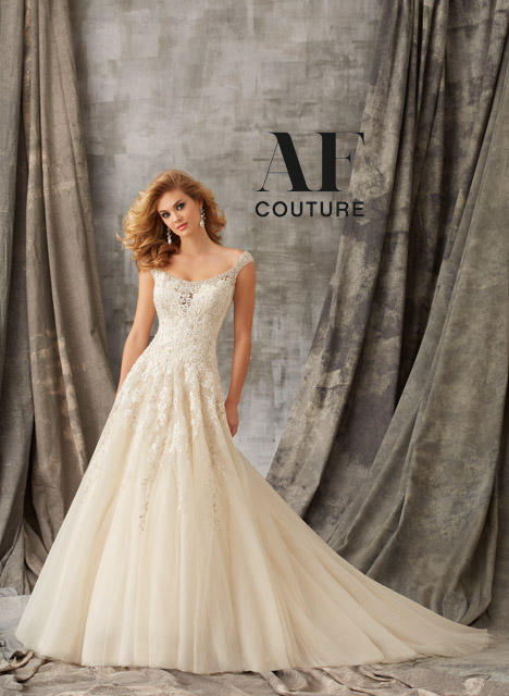 1351 Wedding                                          dress by Mori Lee: AF Couture