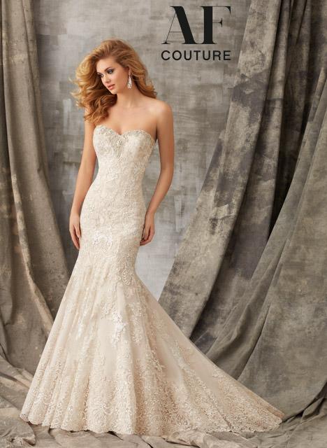 1353 Wedding                                          dress by Morilee AF Couture