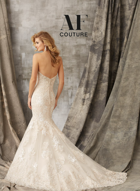 1353 (back) gown from the 2015 Morilee AF Couture collection, as seen on dressfinder.ca