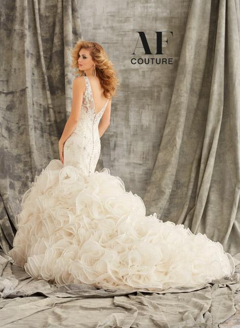 1354 (back) Wedding dress by Morilee AF Couture