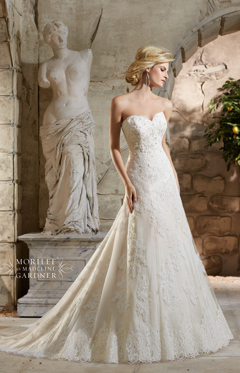 Style 2779 gown from the 2015 Morilee Bridal collection, as seen on dressfinder.ca