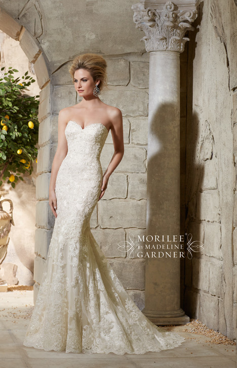 Style 2782 gown from the 2015 Morilee Bridal collection, as seen on dressfinder.ca