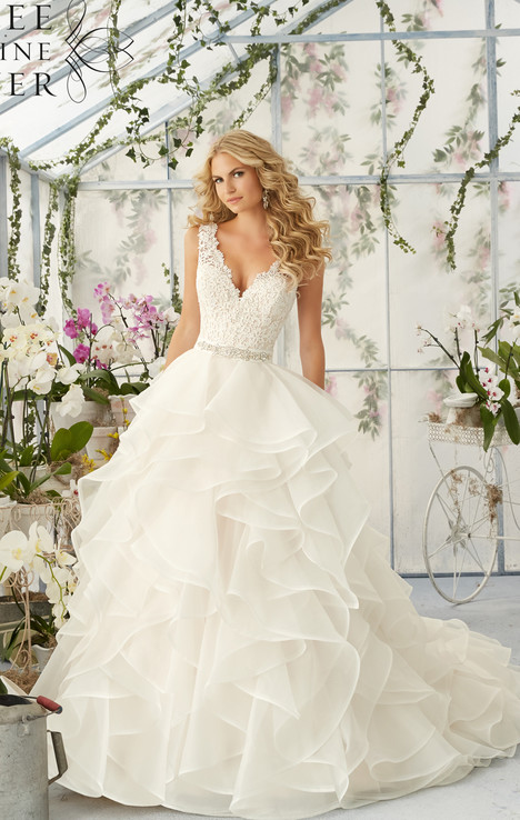 Style 2805 gown from the 2016 Morilee Bridal collection, as seen on dressfinder.ca