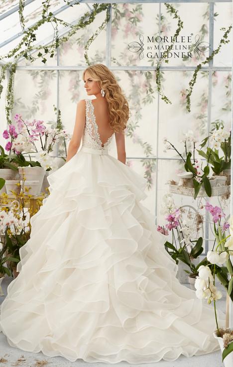 2805 (back) Wedding                                          dress by Mori Lee: Bridal