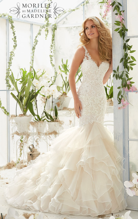 Style 2819 gown from the 2016 Morilee Bridal collection, as seen on dressfinder.ca