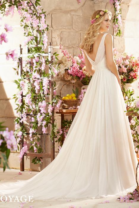 6805 (back) Wedding                                          dress by Mori Lee: Voyage