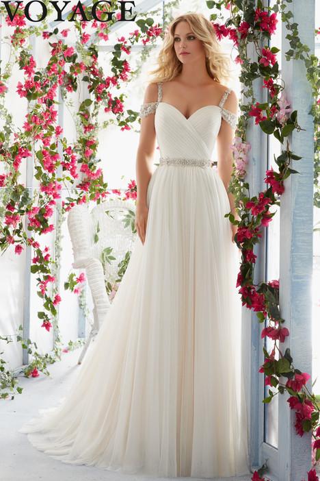 6814 Wedding                                          dress by Mori Lee: Voyage