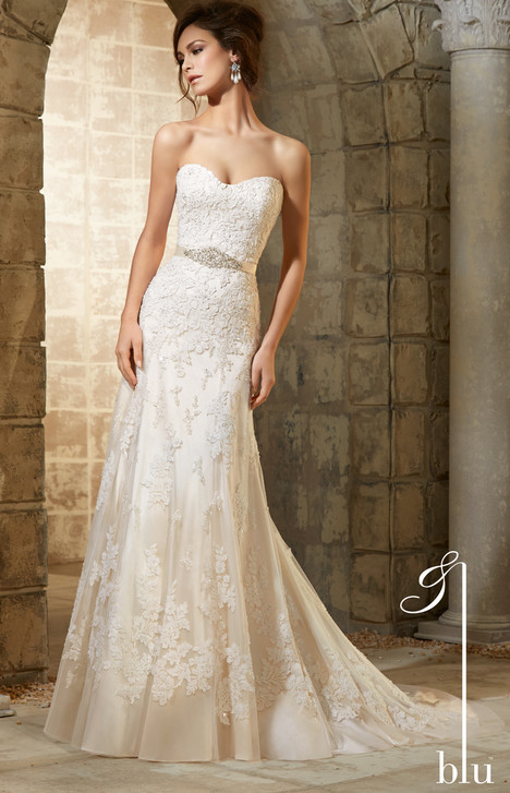 5361 gown from the 2015 Morilee Blu collection, as seen on dressfinder.ca